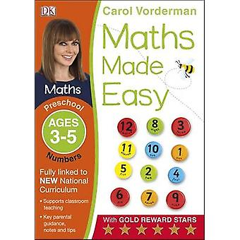 Maths Made Easy Numbers Preschool Ages 3-5 - Preschool ages 3-5 by Car