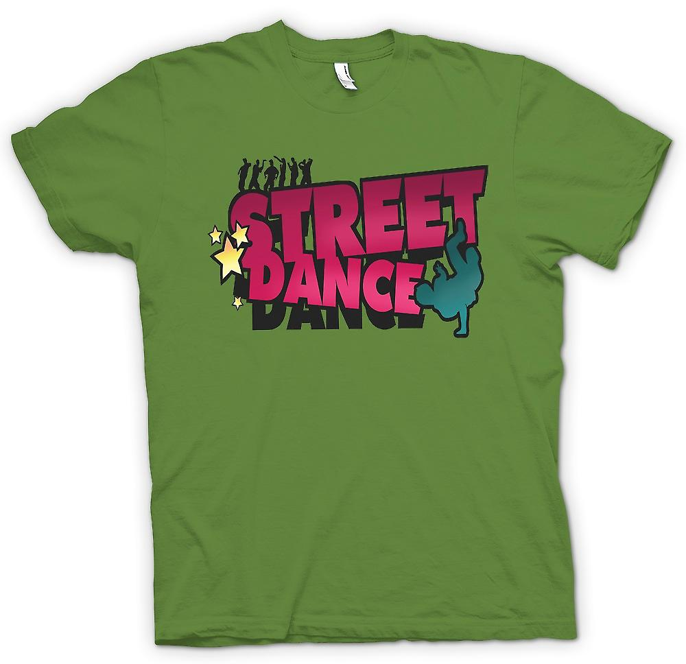 Mens T-shirt - Street Dance - Breakdancing Inspired
