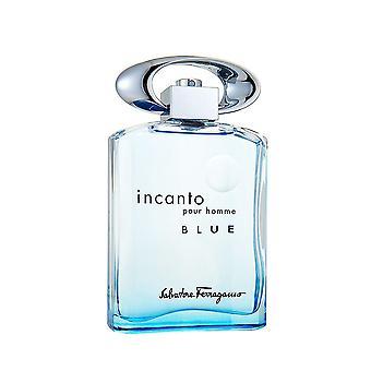 Salvatore Ferragamo Incanto Pour Homme blauw Edt 100 ml
