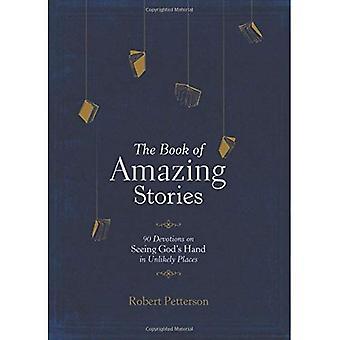 O livro de histórias surpreendentes: 90 devoções ao ver a mão de Deus em lugares improváveis