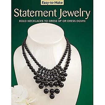 Gemakkelijk te maken verklaring sieraden: Kettingen aan jurk van vet of jurk naar beneden (makkelijk te maken)