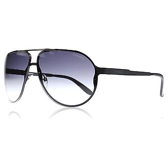 Carrera 90/S 003HD Black / Silver 90/S Pilot Sunglasses Lens Category 3 Lens Mirrored Size 65mm