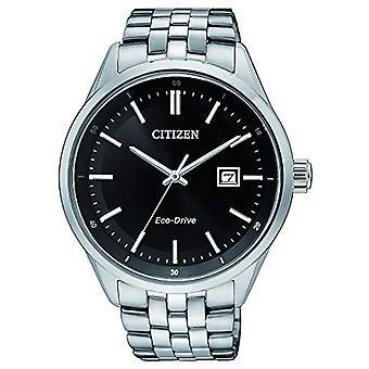 Citizen uomo-Orologio da polso al quarzo in acciaio inox BM7251-88E