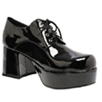 靴プラットフォーム Blk パット男性 Lg