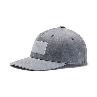 PUMA youth utility patch Snapback children Cap grey