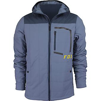 Fox Racing Mens Podium Puffer Jacket - Blue Steel