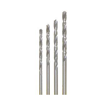 4 x HSS-Bohrer Ø 1,5 - 2,0 - 2,5 - 3,0 mm in SB-Dose