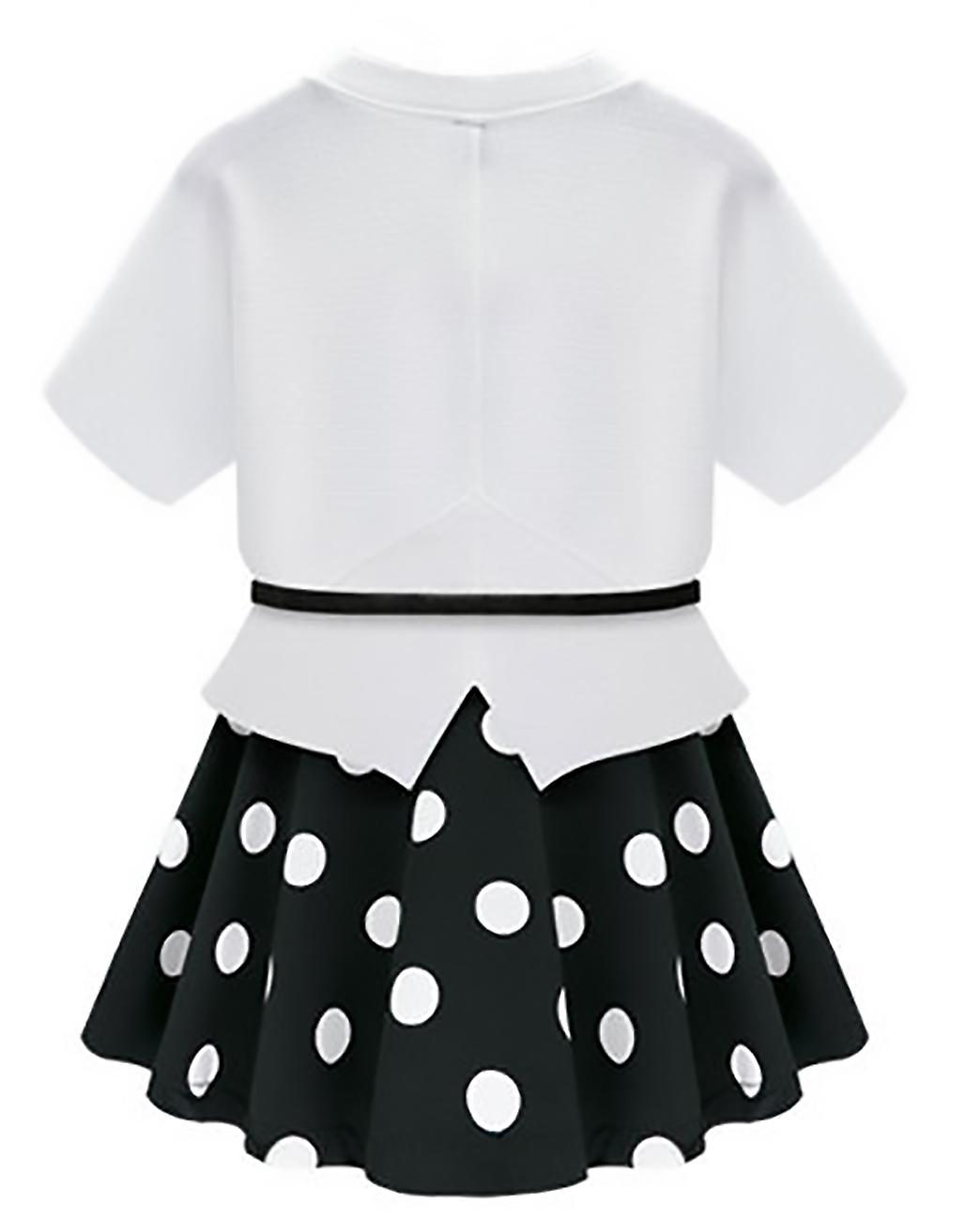 Together dress with polka dots and top short sleeves Petyr