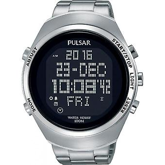Pulsar PQ2055X1 watch - Sport steel man watch