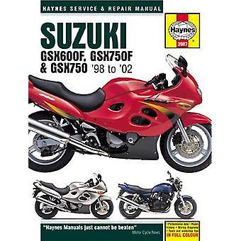 Suzuki GSX600 & 750 Motorcycle Repair Manual by Editors of Haynes Man