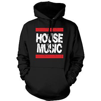 Mens Hoodie - House Music - Clubbing