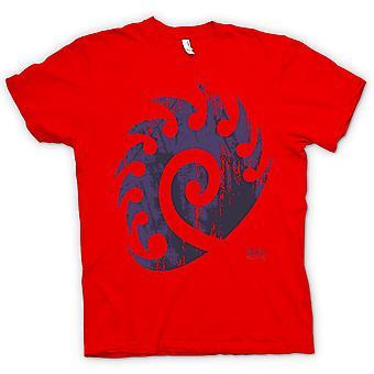 Mens T-shirt - Star Craft geïnspireerd - Zerg