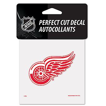 Wincraft Aufkleber 10x10cm - NFL Detroit Red Wings