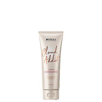 Indola Blond Addict Pinkrose Shampoo 250ml