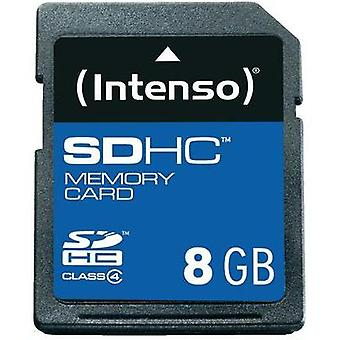 SDHC card 8 GB Intenso 8GB sikre Digital Card SDHC Class 4