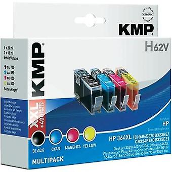 KMP Ink replaced HP 364, 364XL Compatible Set Blac