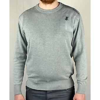 Jack & Jones Nicholas O-neck Knit - Grey