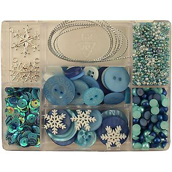 28 Lilac Lane Embellishment Kit-Let It Snow CE-LL-110