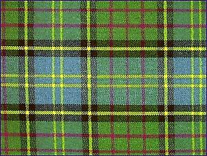 MacMillan Hunting, Ancient - Pure Wool Tartan