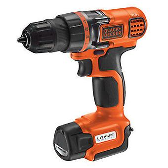 Black and Decker Screwdriver / drill 10.8V Ultra-Compact Lithium