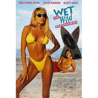 Våd og Wild sommer film plakat Print (27 x 40)