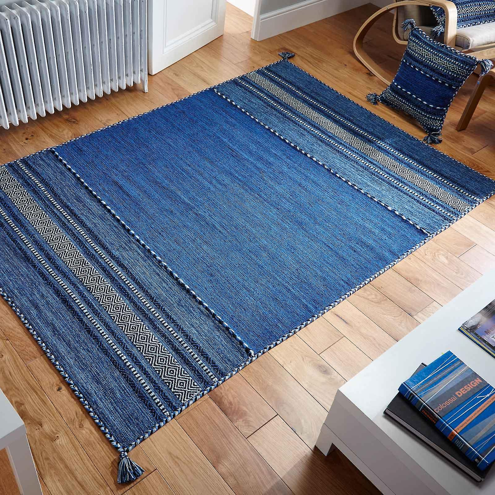 Kelim Rugs In Blue