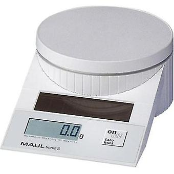 Letter scales Maul MAULtronic S 2000 Weight range 2 kg Readability 0.5 g White