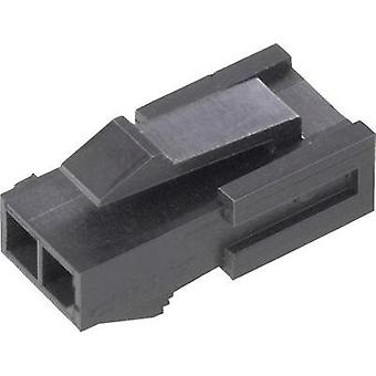Pin enclosure - cable Micro-MATE-N-LOK Total number of pins 3 TE Connectivity 1445048-3 Contact spacing: 3 mm 1 pc(s)
