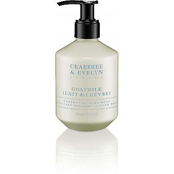 Crabtree & Evelyn - Savon Liquide Goatmilk - Nettoyant Apaisant