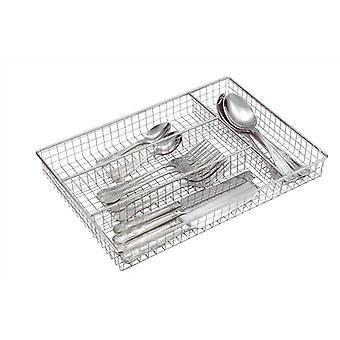 Roma Chrome Cutlery Tray