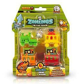Magic Box Int. Zomlingsblister Ghost Train 2X6