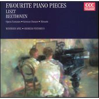Beethoven/Liszt - favorit Piano bitar [CD] USA import