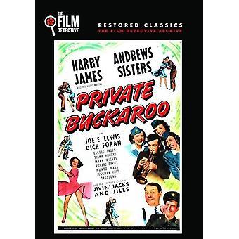 Private Buckaroo [DVD] USA importerer