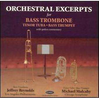 Reynolds/Mulcahy - Orchestral Excerpts for Bass Trombone [CD] USA import
