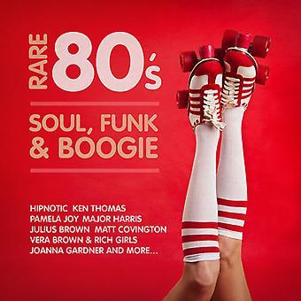 Olika Artist - sällsynta 80's Soul Funk & Boogie [CD] USA import