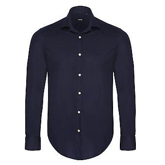 Hugo Boss Navy Mens Shirt