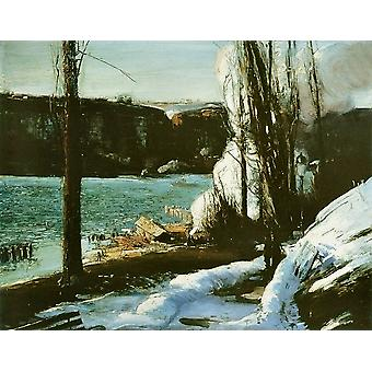 George Bellows - Les Falaises Poster Print Giclee