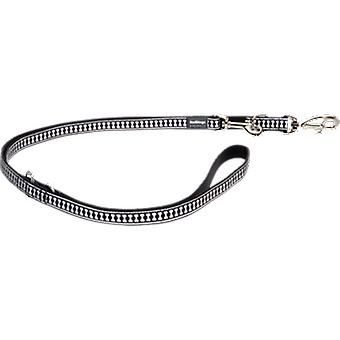 Red Dingo Reflective Strap Black (Chiens , Equipement , Laisses)