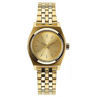 Nixon The Small Time Teller Watch - All Gold