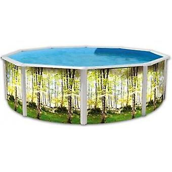 Toi Circular forest pool (Garden , Swimming pools , Swimming pools)