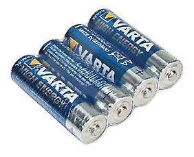 Varta AA LR6 Alkaline Batteries High Energy 1.5 V Tray