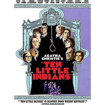 Ti små indianere (1974) [DVD] USA importerer