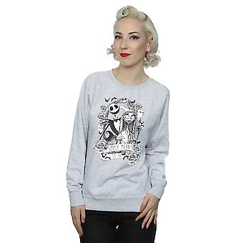 Disney Women's Nightmare Before Christmas Simply Meant To Be Sweatshirt