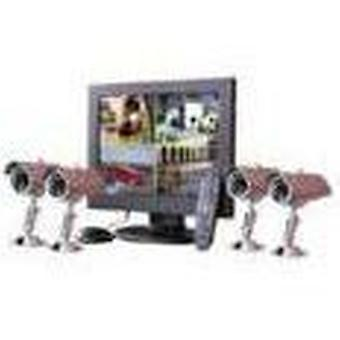 BTV 15 Dvr Kit 4 cameras (Home , Home automation and security , Video surveillance)