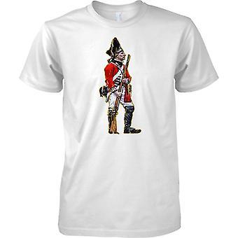 British Soldier - Red Coat Infantry - Kids T Shirt