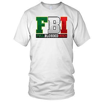 FBI Full Blooded irske St. Patricks dag Mens T-skjorte