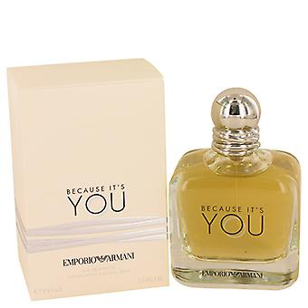 Emporio Armani Because It's You Eau De Parfum Spray 100ml/3.4oz
