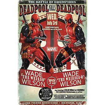 Deadpool - Chumpions cartel Poster Print