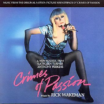 Rick Wakeman - forbrydelser af lidenskab [CD] USA import