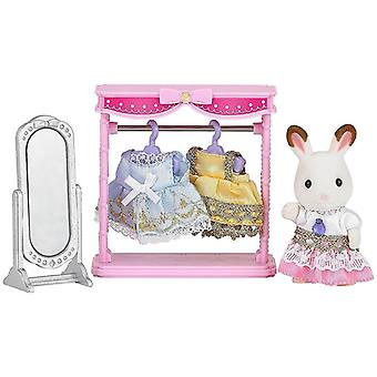 Sylvanian 5236 Families Dressing Area Set